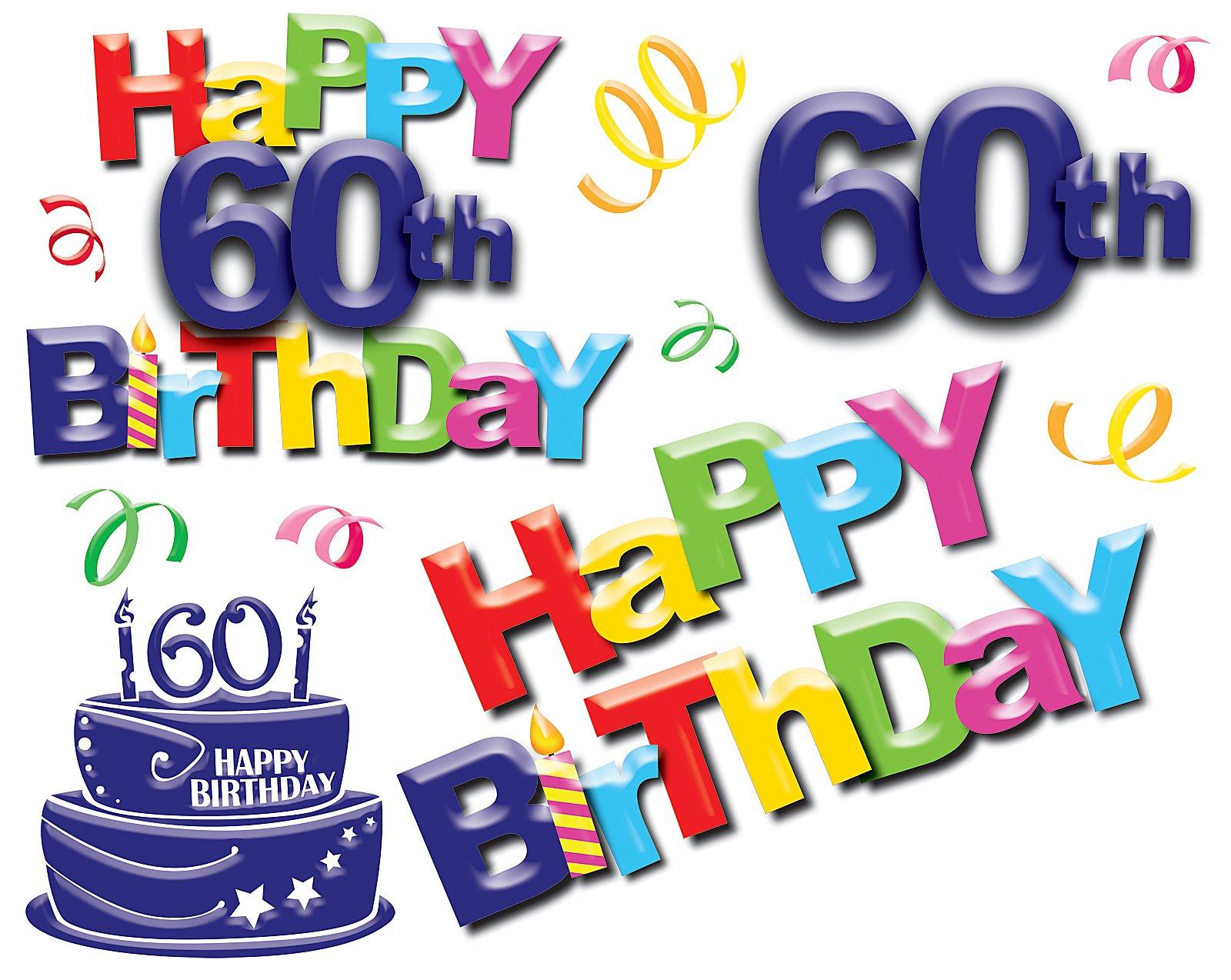 60 Birthday Clipart Free Download Best 60 Birthday Clipart
