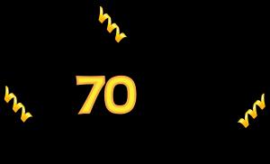 300x182 Happy 70th Birthday Clipart
