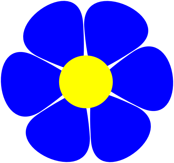 600x564 Flowerpower Clip Art