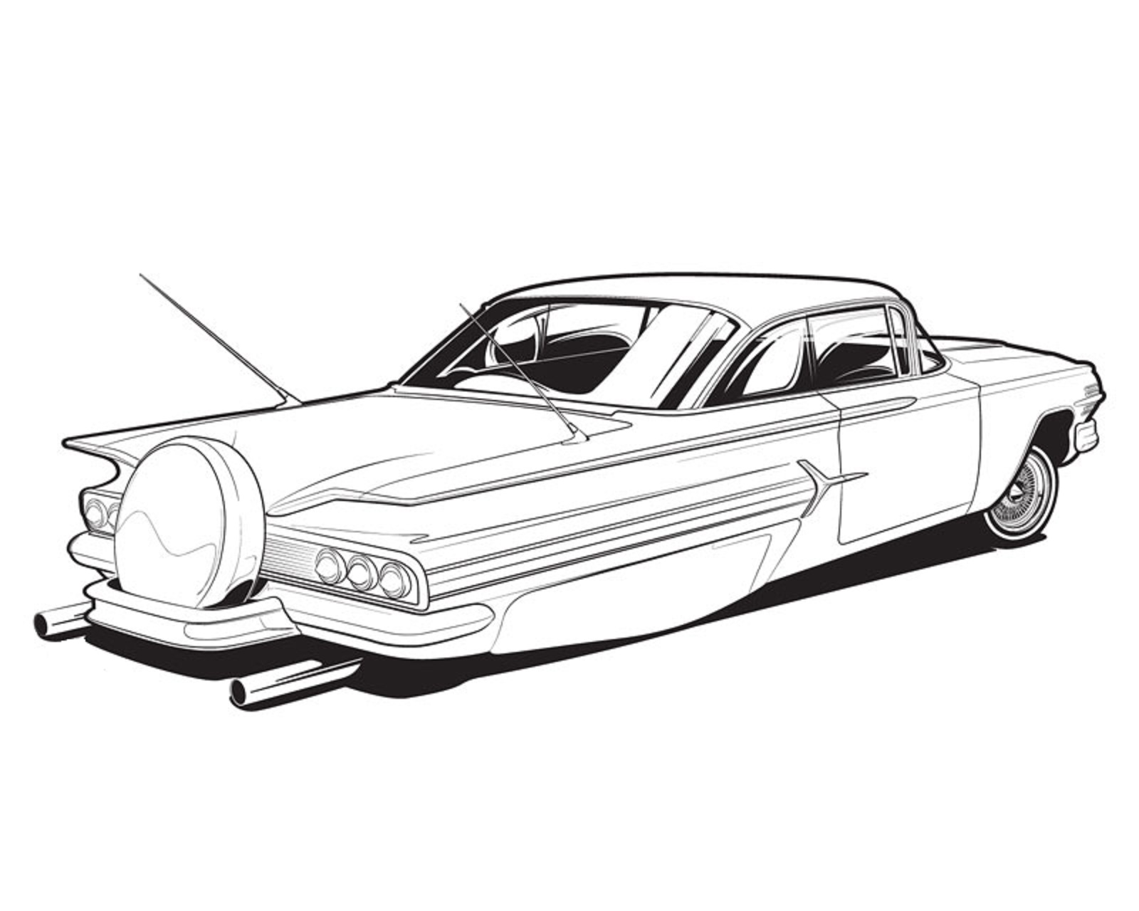 1600x1280 Pin By Kerry Sr On Cartruck Bw Illustrations Cars