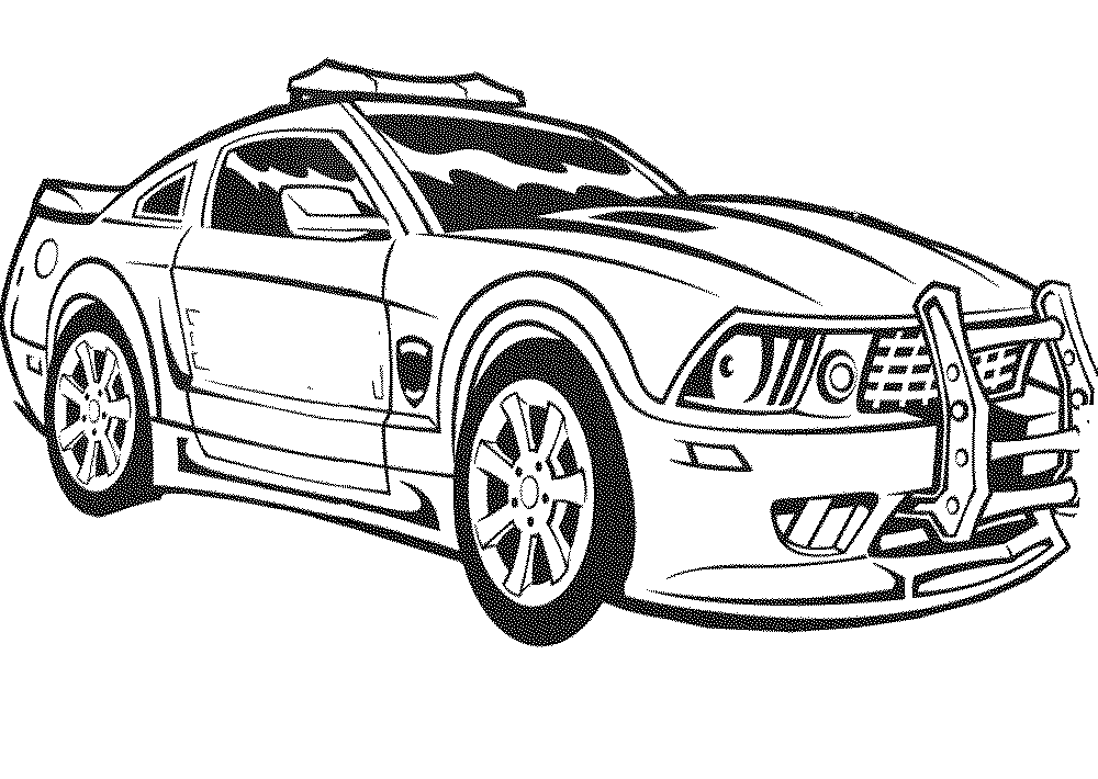 Camaro Coloring Pages For Boys