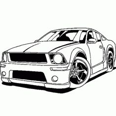 236x236 Cars Coloring Page Car Coloring Pages Cool Car Nascar Free