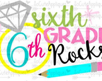 340x270 6th Grade Rocks Etsy