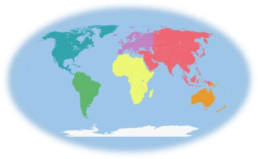 520x320 Introduction To Continents Countries For Preschool