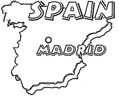 236x193 Spain Flag Flag Of Spain Coloring Page Is The Most Beautiful