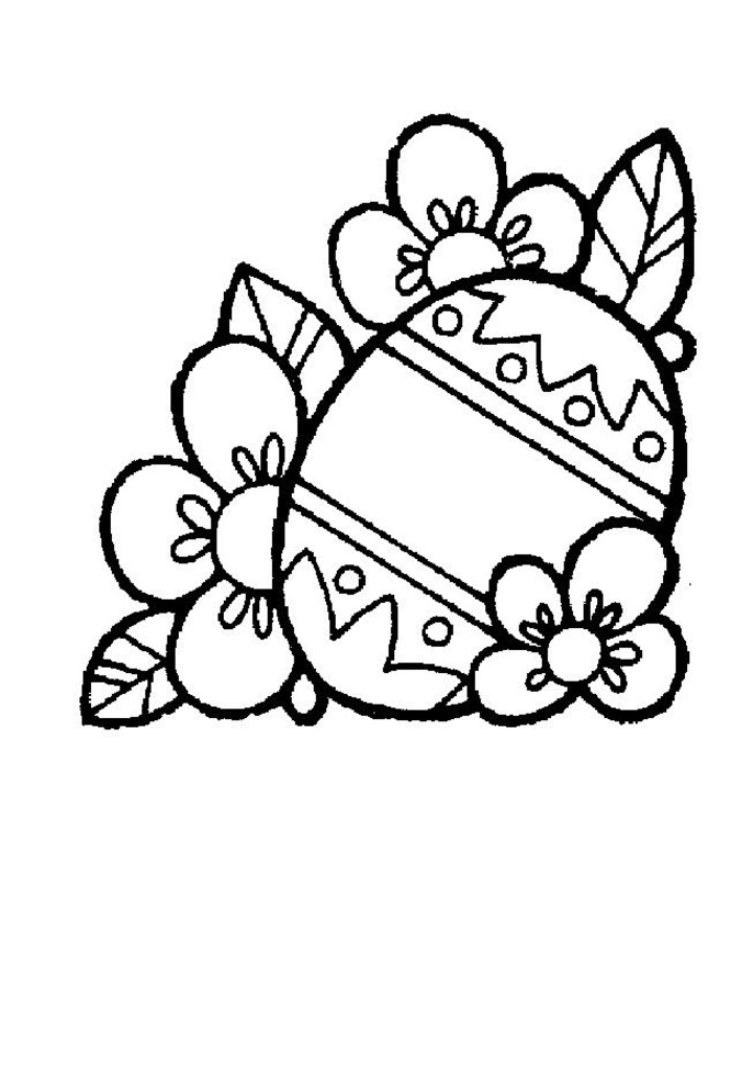 686x970 Spring Coloring Pages