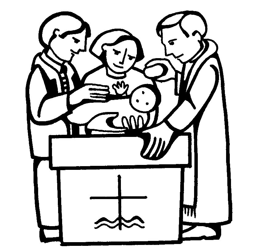 855x819 Baptism Coloring Pages Baptism
