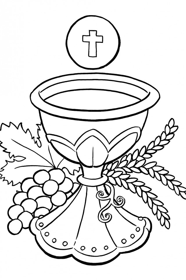 640x960 Catholic Coloring Pages For Kids Free