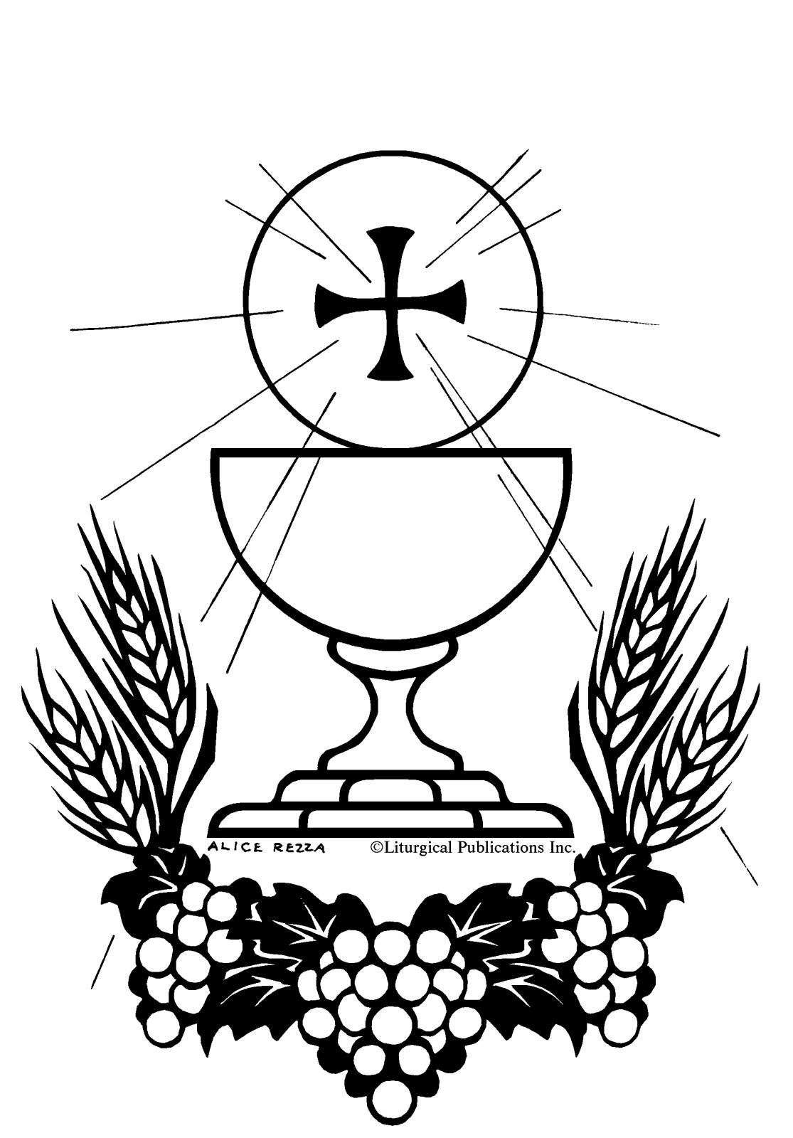 1115x1600 Sacraments Coloring Pages