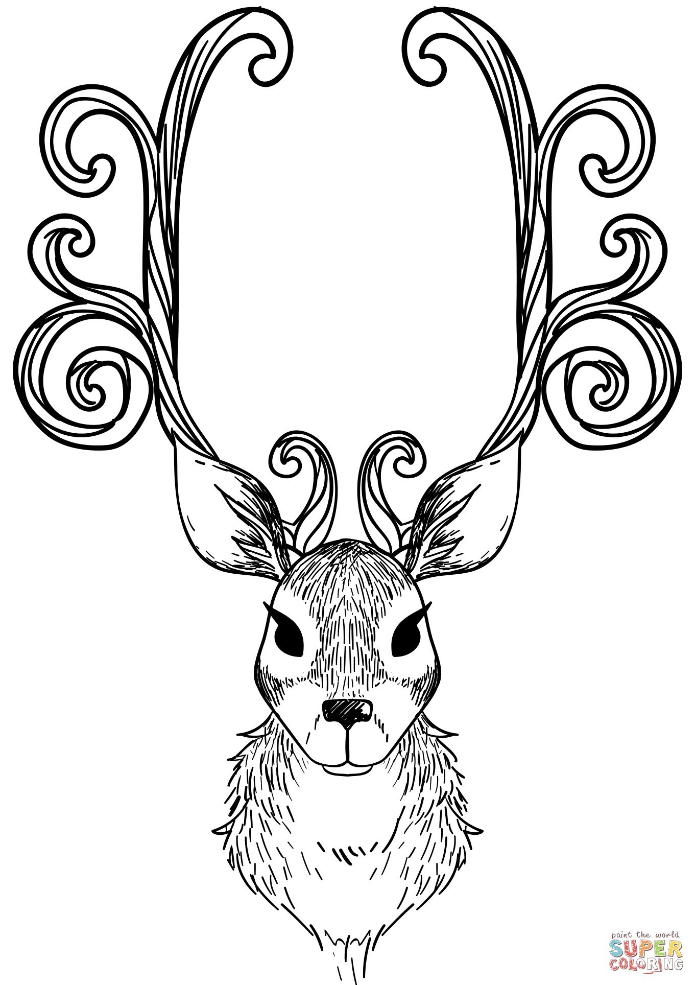 1361x1928 Unique Christmas Reindeer Coloring Pages Coloring Pages Activities