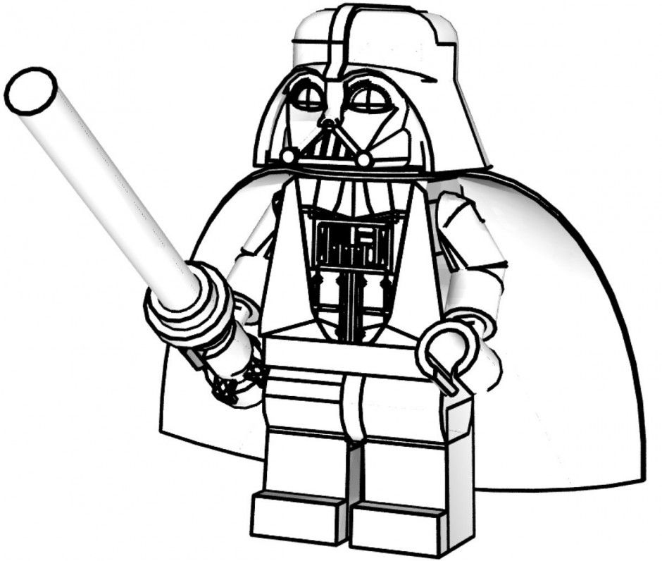 940x796 Darth Vader Coloring Pages