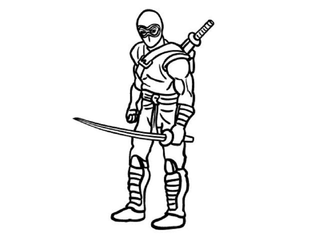 1024x768 Printable Ninja Coloring Pages Amazing Coloring Pages Our New