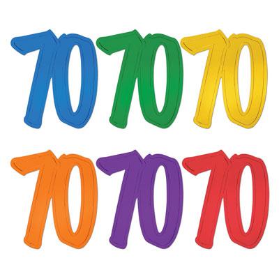400x400 70th Birthday Clipart