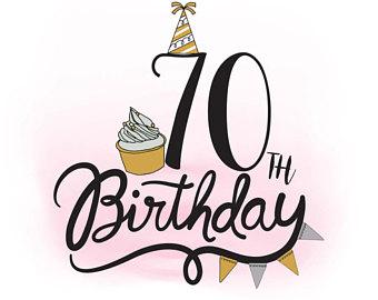 340x270 70th Birthday Svg Etsy