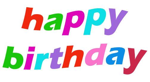 504x278 Free Happy Birthday Clip Art Graphics