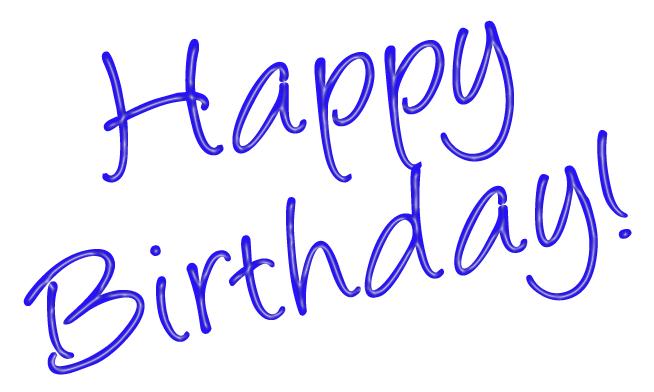 654x392 Happy 70th Birthday Clipart