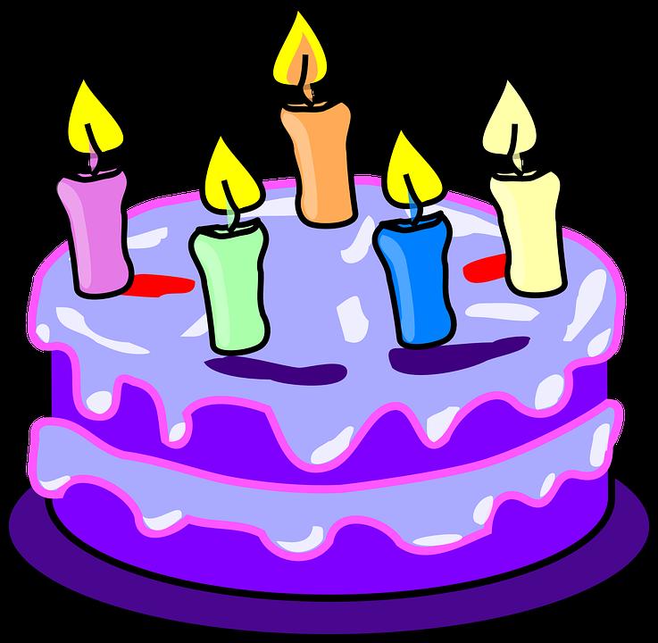 737x720 Mauve Clipart Birthday Cake