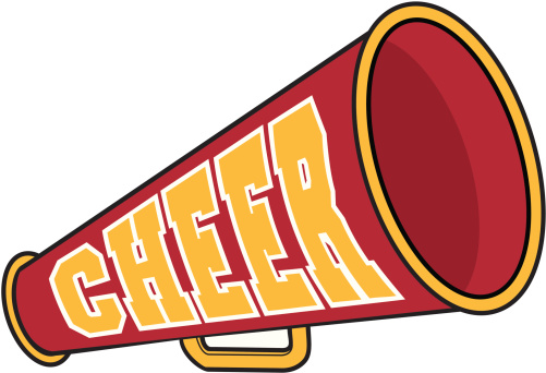 501x342 Cheerleader Clip Art
