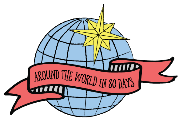 595x397 Around The World In 80 Days Clipart Amp Around The World In 80 Days