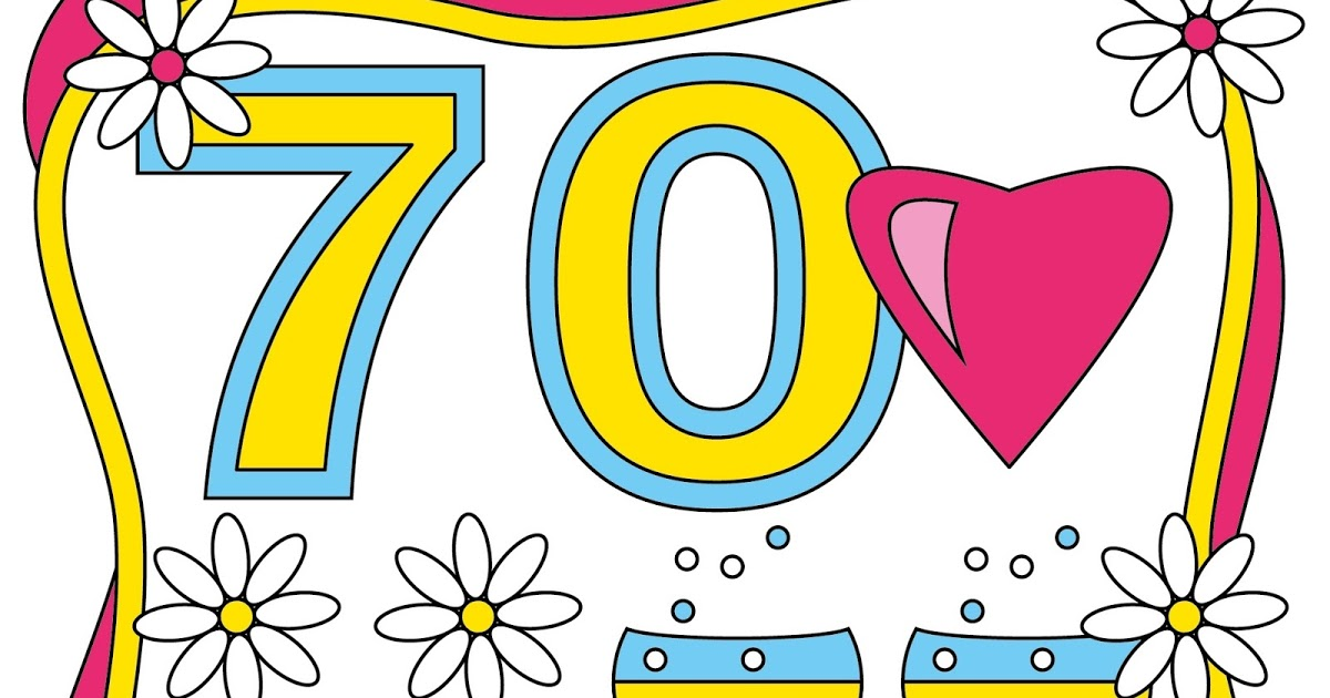 1200x630 Cliparts Geburtstag 70