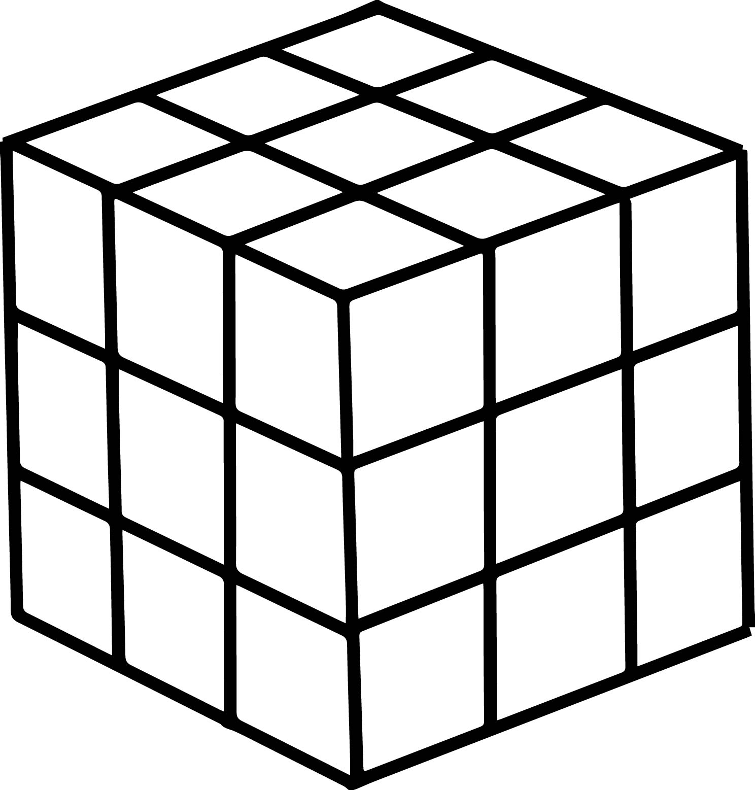 1488x1557 80s Puzzle Box Coloring Page Wecoloringpage