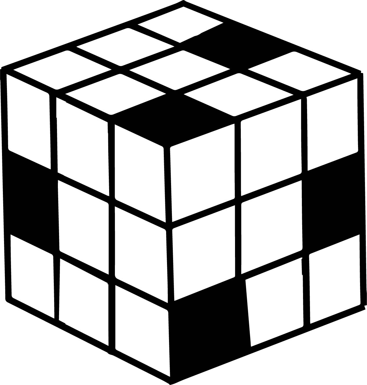 1268x1329 80s Puzzle Box Coloring Pages Wecoloringpage