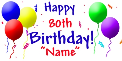80th Birthday Clipart Free Download Best 80th Birthday Clipart On
