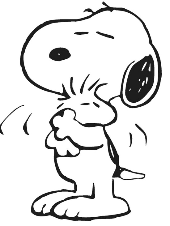 550x731 Snoopy Coloring Pages Coloring Pages