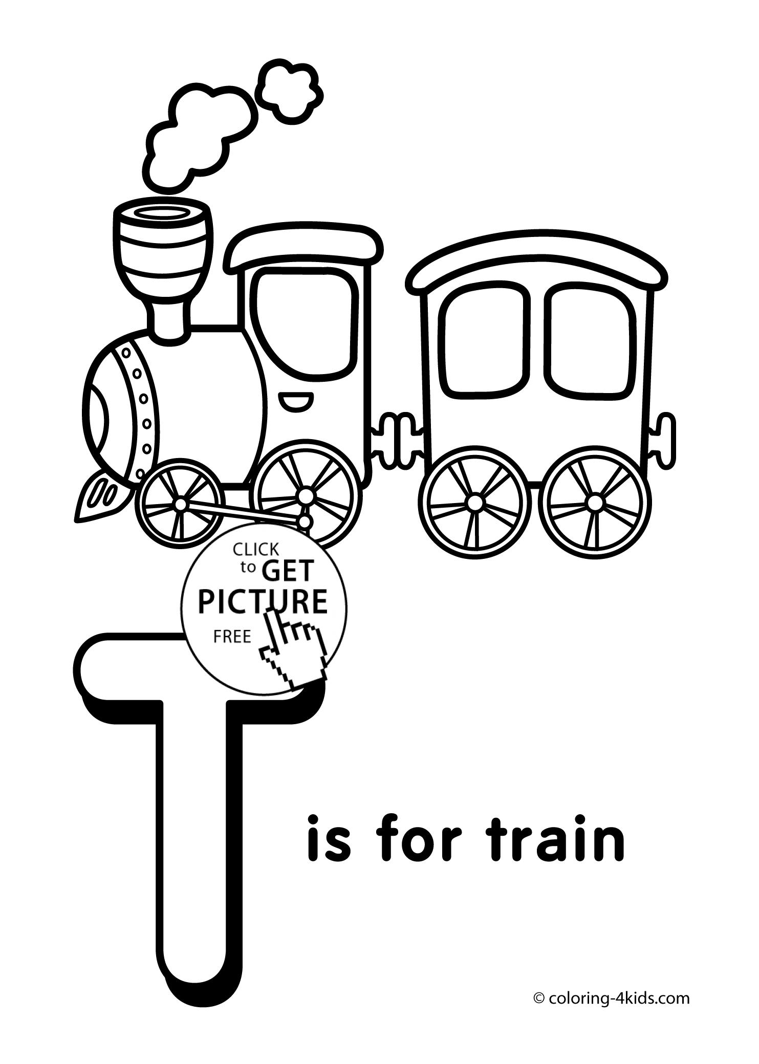 1483x2079 Alphabet Train Coloring Pages Coloring Pages