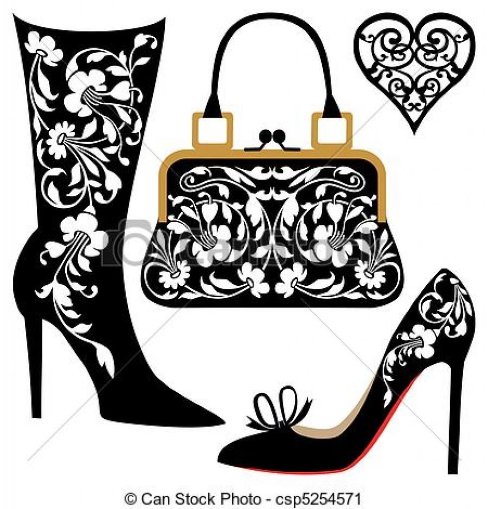 980x1024 Fashion Clipart Handbag