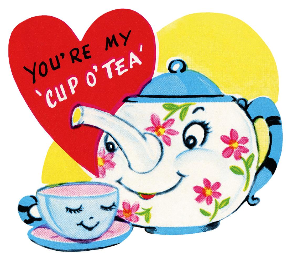 1116x980 Tea Cup Clipart Retro
