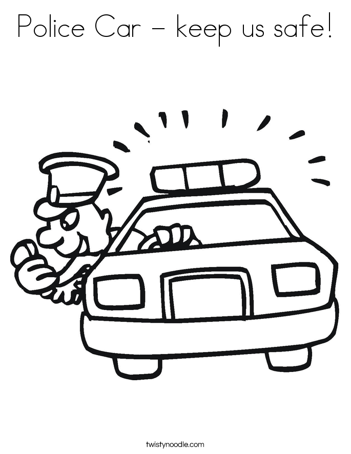 685x886 Police Car