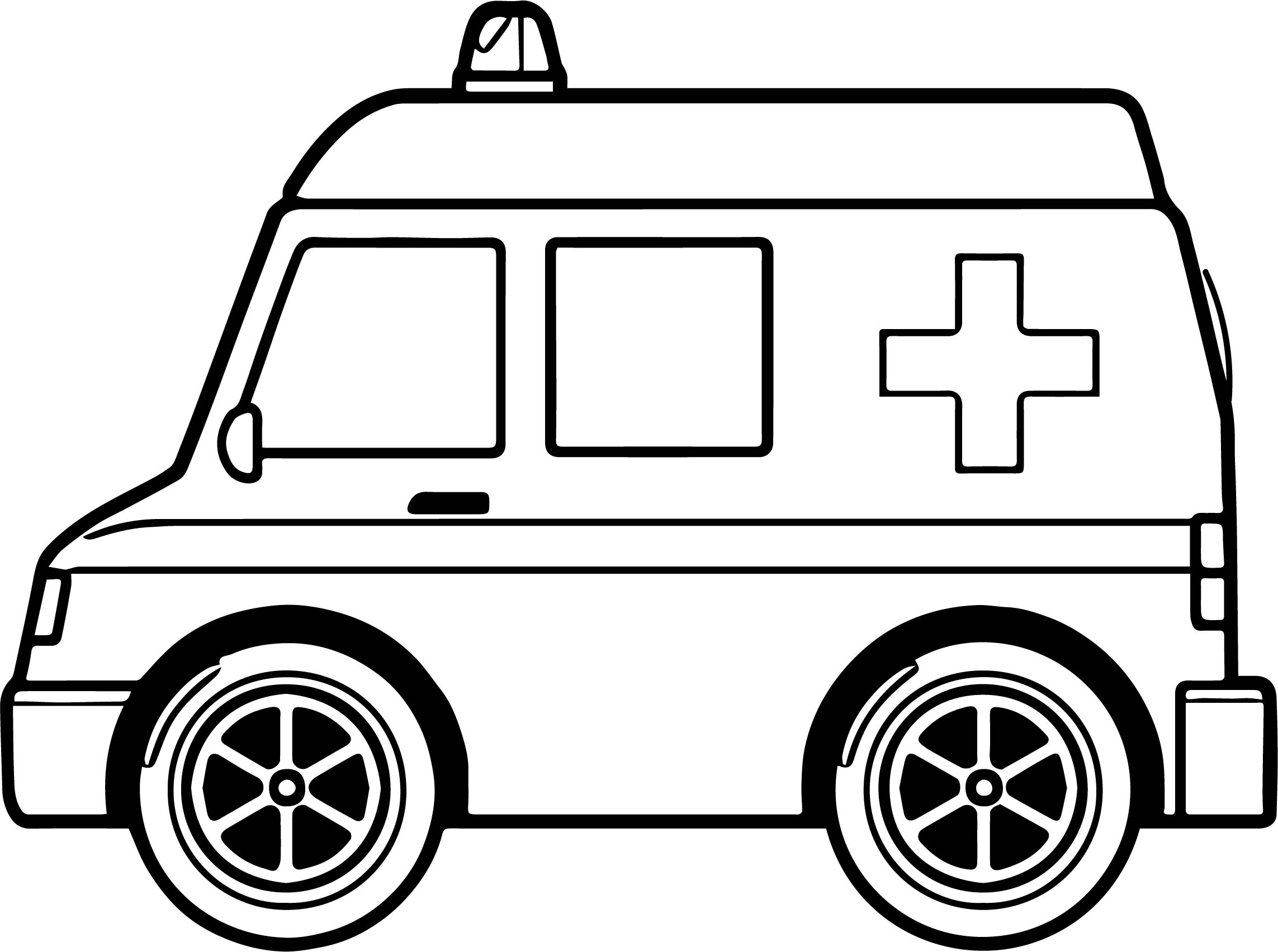 2286x1704 Ambulance Coloring Pages Murderthestout