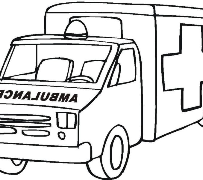 678x600 Coloring Page Ambulance Transportation 41 Printable Coloring Pages