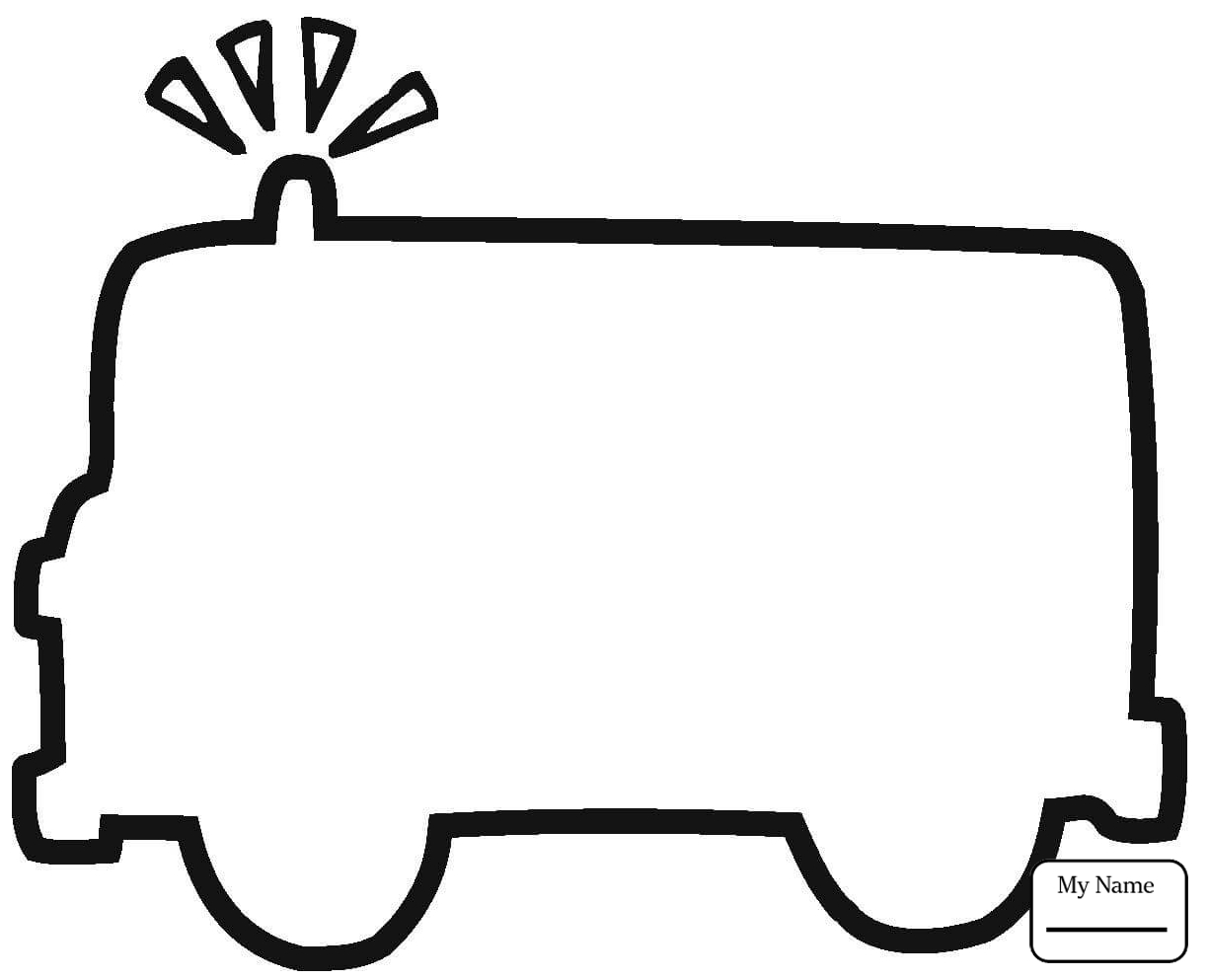 1224x993 Coloring Pages Emergency Car Rescue Vehicles Transport