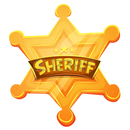 450x450 3,929 Star Sheriff Badge Stock Vector Illustration And Royalty