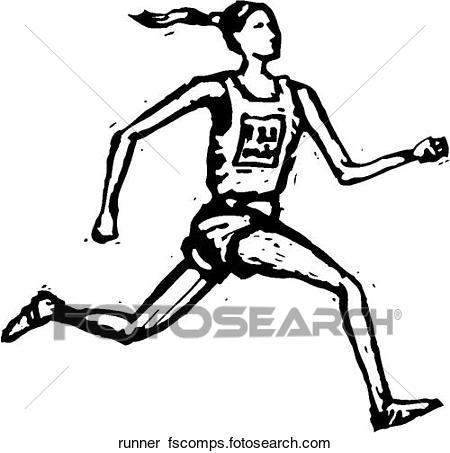 450x453 Clipart Of Runner Runner