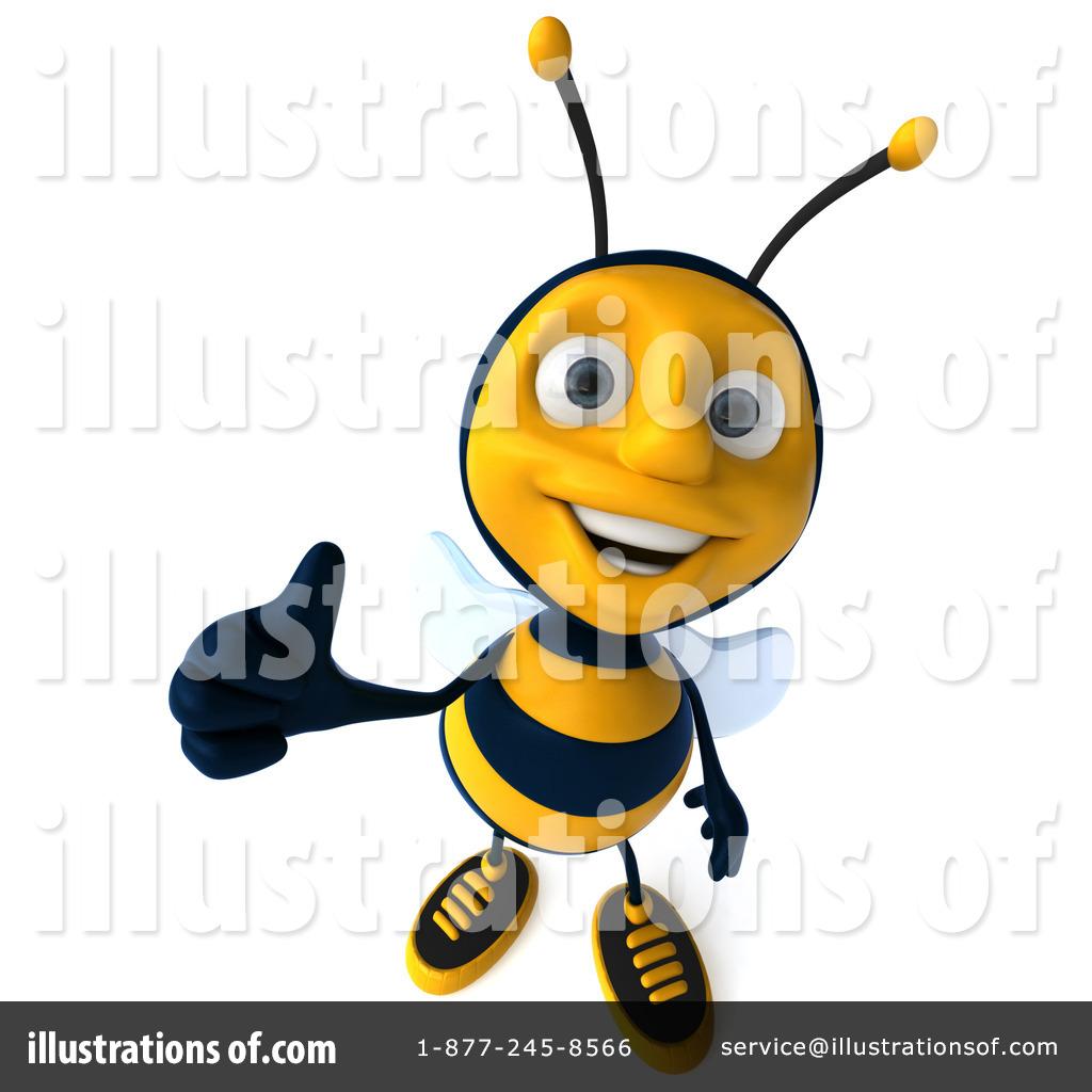 1024x1024 3d Bee Clipart