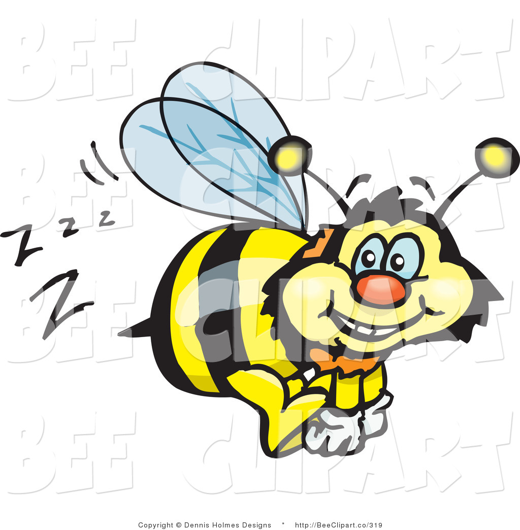 1024x1044 Vector Clip Art Of A Yellow And Black Bumble Bee Character Buzzing