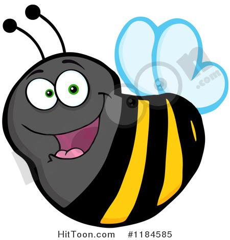 450x470 Bee Clipart