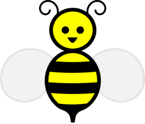 298x255 Cute Bumble Bee Clip Art Free Clipart Image