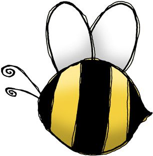 306x313 Free Bee Graphics Bumble Bees Clipart