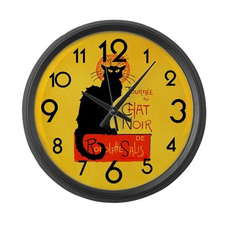 460x460 Cat Clocks Cat Wall Clocks Large, Modern, Kitchen Clocks