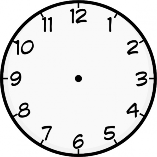 600x600 Clock Free Images