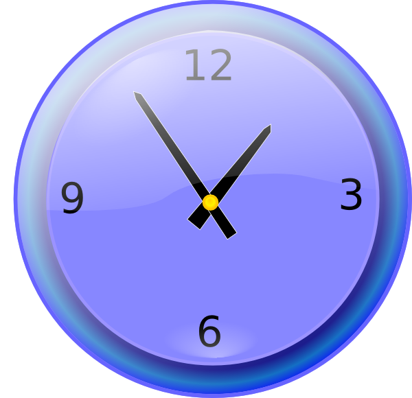 600x580 Free To Use Amp Public Domain Wall Clock Clip Art