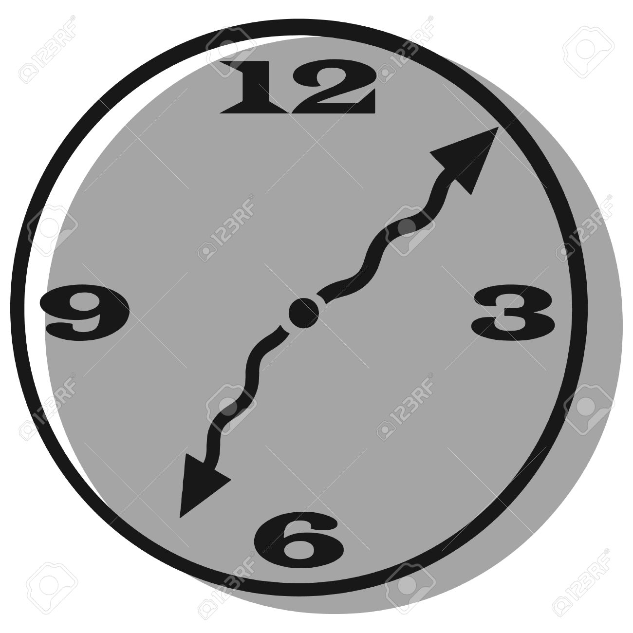 1300x1300 Gray Clipart Clock
