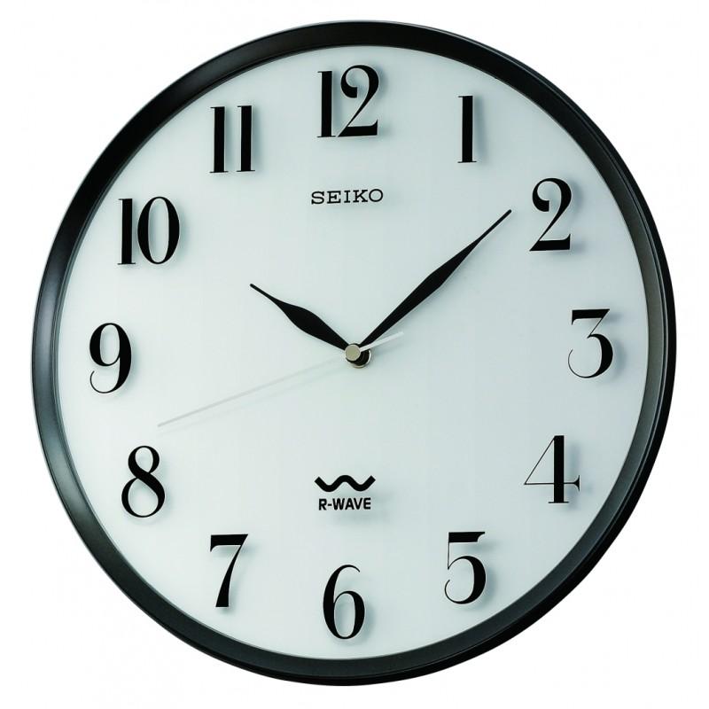 800x800 R Wave Atomic Wall Clock Seiko Clocks