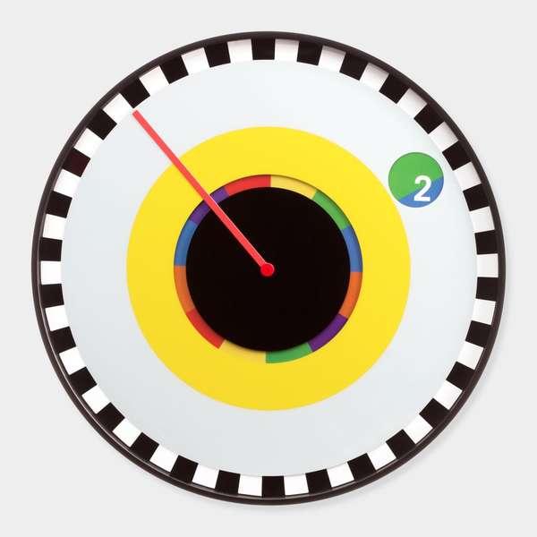 600x600 Unconventional Chromatic Clocks Sprocket Wall Clock