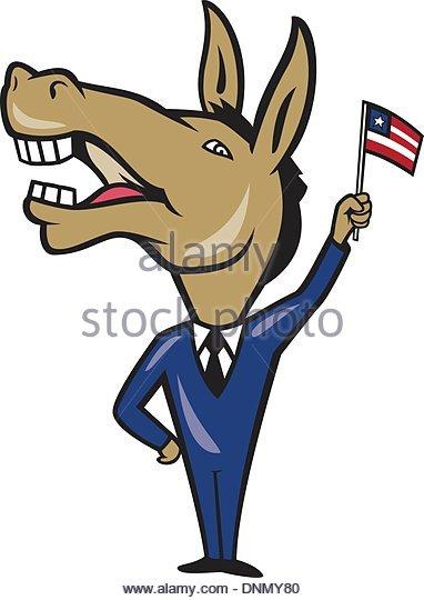 382x540 Democrat Donkey Cartoon Stock Photos Amp Democrat Donkey Cartoon