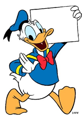 285x397 Donald Duck Clipart Old Fashioned